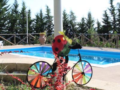 villa con piscina vacanze